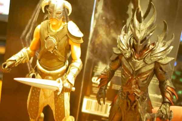 El mismísimo Dovahkiin de The Elder Scrolls V: Skyrim en tu escritorio por 300 dólares